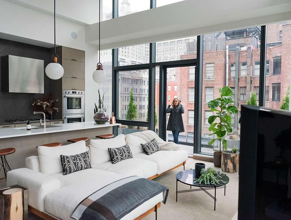 Big New York City Living Room