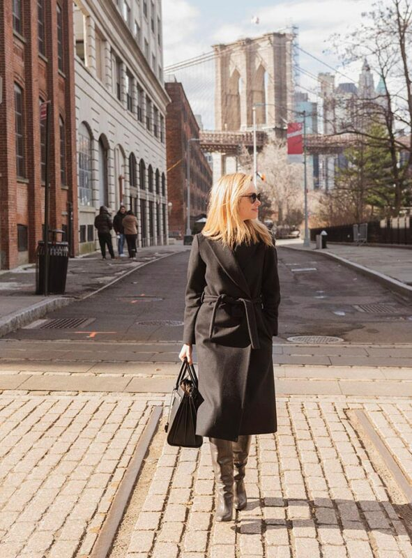 Kirsten Jordan Walking in Dumbo